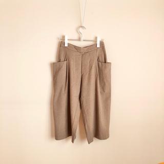 エヴァムエヴァ(evam eva)のevameva  wool cashmere pants(カジュアルパンツ)