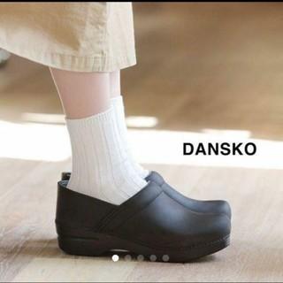 ダンスコ(dansko)の◆◆美品◆◆ダンスコ(DANSKO)のプロフェッショナル オイルド ブラック38(サンダル)