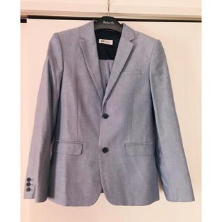 H&M - 男子春物スーツ 160サイズ H&M 美品