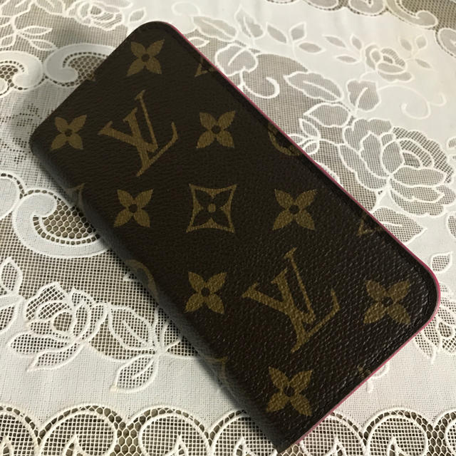 LOUIS VUITTON - ルイヴィトン iPhone7 ケース☆クリアケース付き!の通販