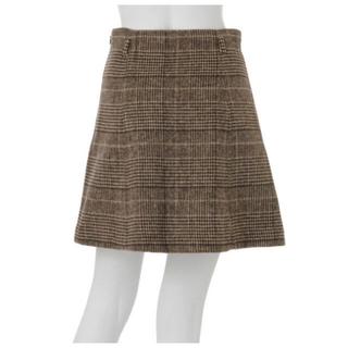 MERCURYDUO - チェック 台形スカート