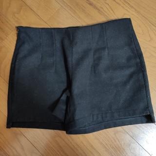 ブラック ショートパンツ(ショートパンツ)