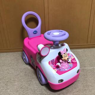 ディズニー(Disney)のミニーちゃん 手押し車(手押し車/カタカタ)
