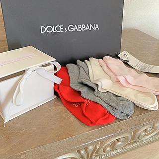 ドルチェアンドガッバーナ(DOLCE&GABBANA)のドルチェ&ガッパーナ❗️銀座正規店購入❗️新品箱付き❗️定価13200円❗️(靴下/タイツ)