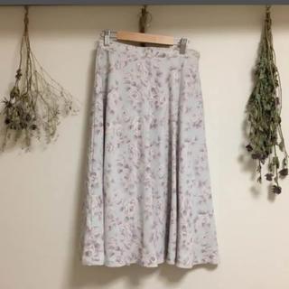 ロキエ(Lochie)のused 花柄スカート(ひざ丈スカート)