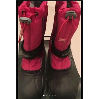 ソレル(SOREL)のスノーブーツ SOREL ソレル 21cm 週末限定 値下げ(ブーツ)