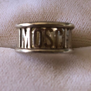 モスキーノ(MOSCHINO)のMOSCHNO(モスキーノ)シルバーリング(リング(指輪))