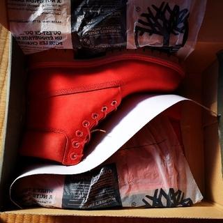 ティンバーランド(Timberland)のティンバーランド 赤色ブーツ(ブーツ)
