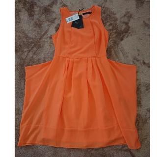 tibi オレンジ ワンピース ドレス サイズ2 定価34,650円(ミディアムドレス)