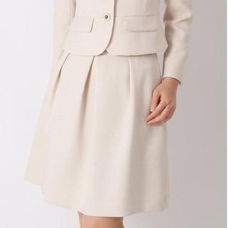 アオヤマ(青山)のくま様専用 青山 新品 スカート セレモニー 13号 アンカーウーマン(ひざ丈スカート)
