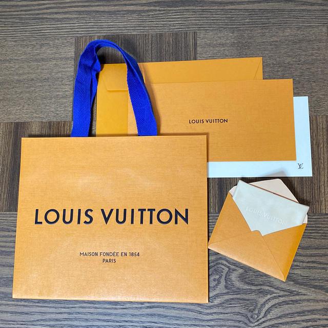 LOUIS VUITTON - ルイヴィトン クロス 紙袋 メッセージカードの通販