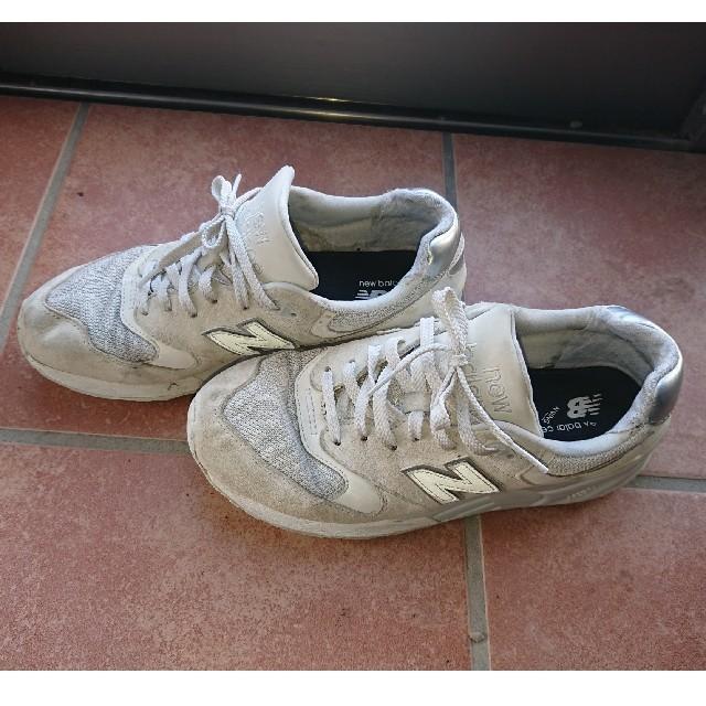 New Balance(ニューバランス)のnew balance ニューバランス  WL999WM グレー×シルバー メンズの靴/シューズ(スニーカー)の商品写真