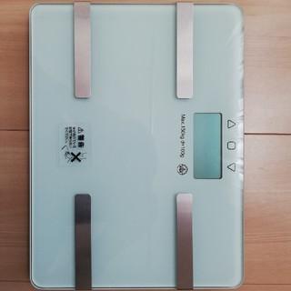 コンパクト体重体組成計