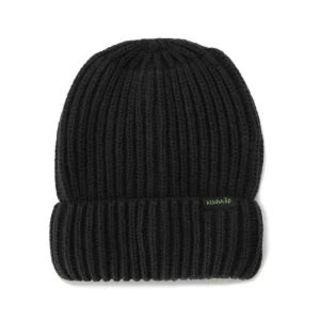 クレードスコープ(kladskap)の黒 ニット帽★kladskap(帽子)