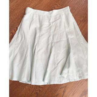 レッセパッセ(LAISSE PASSE)の新品レッセパッセフリルマーメイドスカート(ひざ丈スカート)