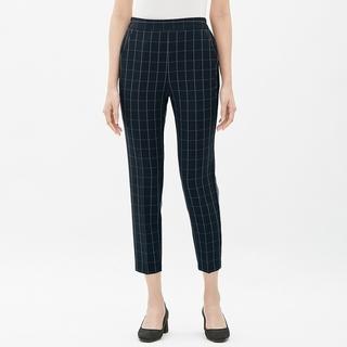 GU - 新品 ジーユー レディース XL キレイ目 春パンツ オフィスカジュアル 紺系