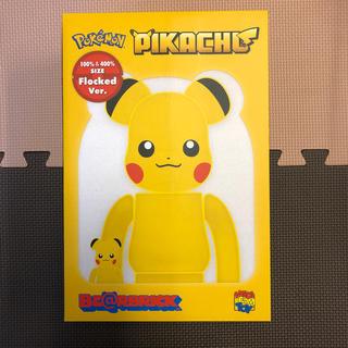 メディコムトイ(MEDICOM TOY)のピカチュウ ベアブリック 100% & 400% Pokémon ポケモン(その他)