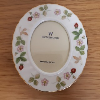ウェッジウッド(WEDGWOOD)のWEDGWOOD ワイルドストロベリー 写真立て(写真額縁)
