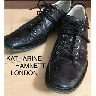 KATHARINE HAMNETT - KATHARINE HAMNETT(キャサリンハムネット)メンズ 25センチ