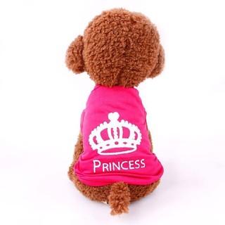 犬服 犬の服 ドッグウェア 小型犬 princess 春夏 S~L ピンク