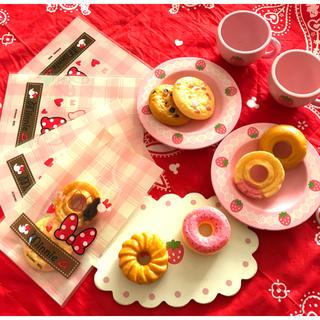 ディズニー(Disney)のおままごと ドーナツ&クッキー、ミニー袋セット(おもちゃ/雑貨)