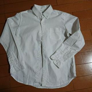 ユニクロ オックスフォードシャツ140(ブラウス)