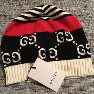 グッチ(Gucci)の新品未使用 GUCCI グッチ ニット帽(ニット帽/ビーニー)