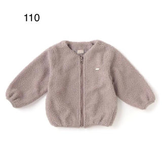 petit main - プティマイン  ボアジャケット 110