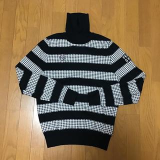 パーリーゲイツ(PEARLY GATES)のパーリーゲイツ ハイネックセーター 美品(ニット/セーター)