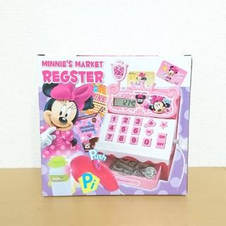 ディズニー(Disney)の新品▼わくわくショッピングおもちゃレジスター お店屋さんごっこ ミニーちゃん(おもちゃ/雑貨)