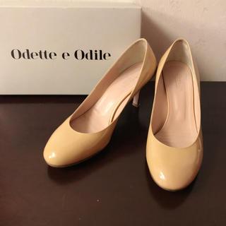 Odette e Odile - オデット エ オディオール◇サイズ24.5◇エナメルレザー パンプス