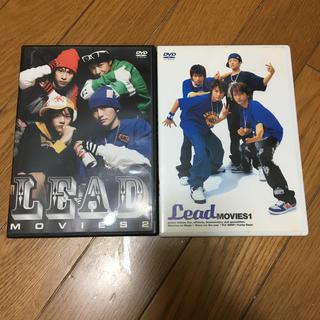 Lead MOVIES 1 DVD  2枚セット MOVIES2(ミュージック)