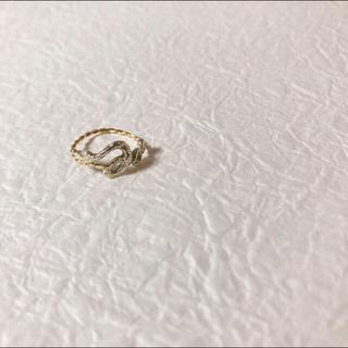 カオル(KAORU)のKAORU ピンキーリング ヘビ(リング(指輪))