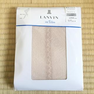 ランバンオンブルー(LANVIN en Bleu)の新品 ランバンオンブルー ストッキング 網 レース ベージュ ①(タイツ/ストッキング)