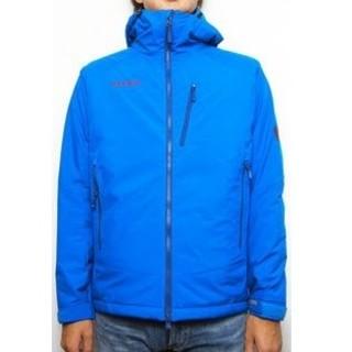 マムート(Mammut)のウィンタートレイルジャケット 色ブルー サイズS(ダウンジャケット)