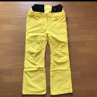 バートン(BURTON)の即日発送相談してください スノーボード ウェア パンツ 黄色 M JEWEL(ウエア/装備)