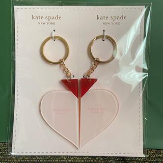 ケイトスペードニューヨーク(kate spade new york)の非売品♡ ケイトスペードKate spade キーホルダー ノベルティ(キーホルダー)