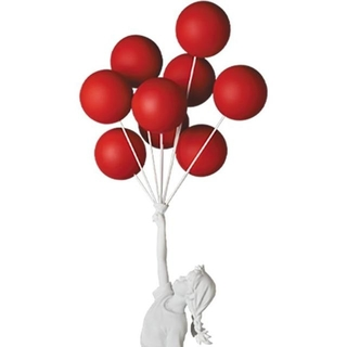 メディコムトイ(MEDICOM TOY)の未開封 BANKSY Flying Balloons Girl Red ver(その他)