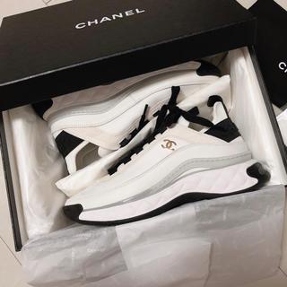 CHANEL - 新品 chanel シャネル スニーカー 38