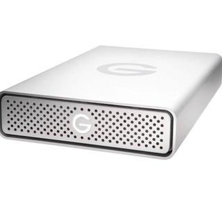 ヒタチ(日立)のG-Technology製(日立/HGST製)外付HDD 3TB メーカー再生品(PC周辺機器)