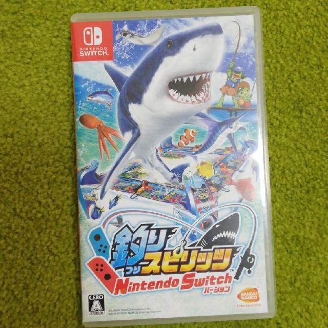 値下げ 釣りスピリッツ Nintendo Switchバージョン Switch エンタメ/ホビーのゲームソフト/ゲーム機本体(家庭用ゲームソフト)の商品写真