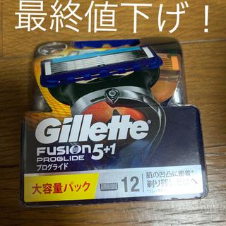 ピーアンドジー(P&G)のGillette FUSIO 5+1 プログライド 12 替刃 (脱毛/除毛剤)