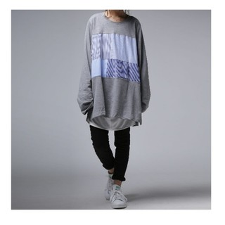 antiqua - antiqua  ロングTシャツ