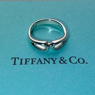 ティファニー(Tiffany & Co.)のティファニー ダブルオープン ティアドロップ リング 正規品(リング(指輪))