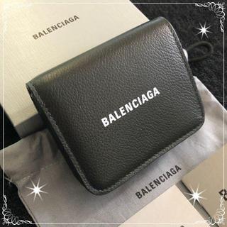 Balenciaga - 新品☆バレンシアガ☆二つ折り財布Black