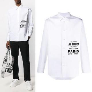 Jil Sander - 新品 ジル・サンダー ホワイトシャツ38