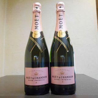 モエエシャンドン(MOËT & CHANDON)のGOD 様用モエシャンドン・ロゼ・フルボトル4本セット・新品未開封(シャンパン/スパークリングワイン)