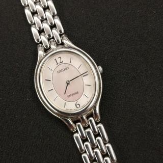 SEIKO - SEIKOセイコー エクセリーヌ レディース腕時計 稼働品