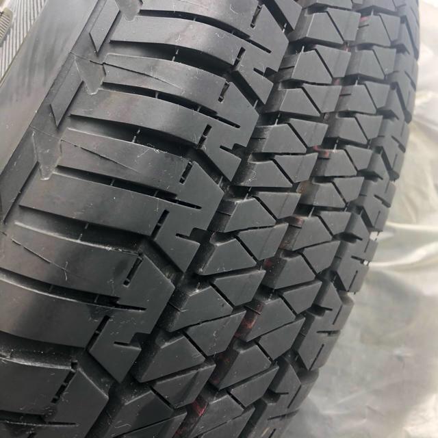BRIDGESTONE(ブリヂストン)の新型ジムニー 純正ホイールタイヤ4本セット 自動車/バイクの自動車(タイヤ・ホイールセット)の商品写真