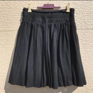 UNTITLED - UNTITLED アンタイトル スカート 黒 ブラック 2